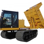 10T Tracked Dumper Length 5820mm Width 3200mm Height 3050mm Unladen Weight 13500Kgs