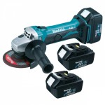 125mm Cordless Angle Grinder Weight 2.5Kgs Voltage 18V Battery HAVS 2.1m/s²