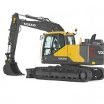 14T Excavator  Track Length 3760mm Width 2590mm Height 2800mm