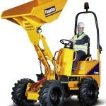 1T Hi-Tip Dumper Length 3192mm Width 1115mm Height 2860mm Unladen weight 1295Kg