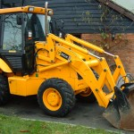 Backhoe Loader JCB 2CX Length 5130mm Width 1850mm Height 2650mm Approximate Weight 6000Kgs