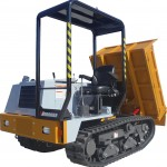 3T Tracked Dumper Length 3170mm Width 1646mm Height 2316mm Unladen Weight 2200Kgs