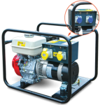 5KVA Petrol Generator 16A/32A 230/110V  Length 685mm Width 685mm Height 540mm