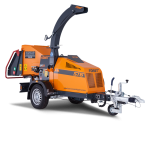 "6"" Towed Wood Chipper Length 3577mm Width 1300mm Height 2297mm Weight 955Kgs"