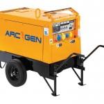 6KVA Generator 16A/32A 230V/110V Length 1170mm Width 670mm Weight 265Kgs Fuel Consumption @ 75% 2L per Hour