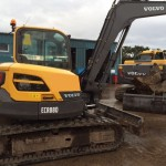 8T Excavator Track Length 2830mm Width 2300mm Height 2715mm