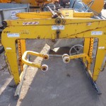 Blockgrab Span 600-910 Jaw Length 1200mm Weight 200Kgs