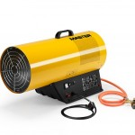 Gas Heater 181.000btu/h Air Displacement 1.450 m³/h Fuel Consumption 3,78 kg/h Dimensions 680 x 300 x 510mm Weight 14.3Kgs