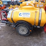 1125L Pressure Washer Bowser Engine Yanmar Fuel capacity 5.5L Length 3140mm Width 1160mm Height 1400mm Weight 453Kg