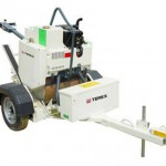 Single Drum Roller Trailer Width 710mm HAVS 5.5m/s² Trailer Pin Hitch