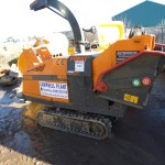 "6"" Tracked Chipper Length 2676mm Width 800mm Height 2450mm Weight 1300Kgs"