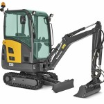 1.5T Excavator Track Length 1568mm Width 994mm Height 2395mm